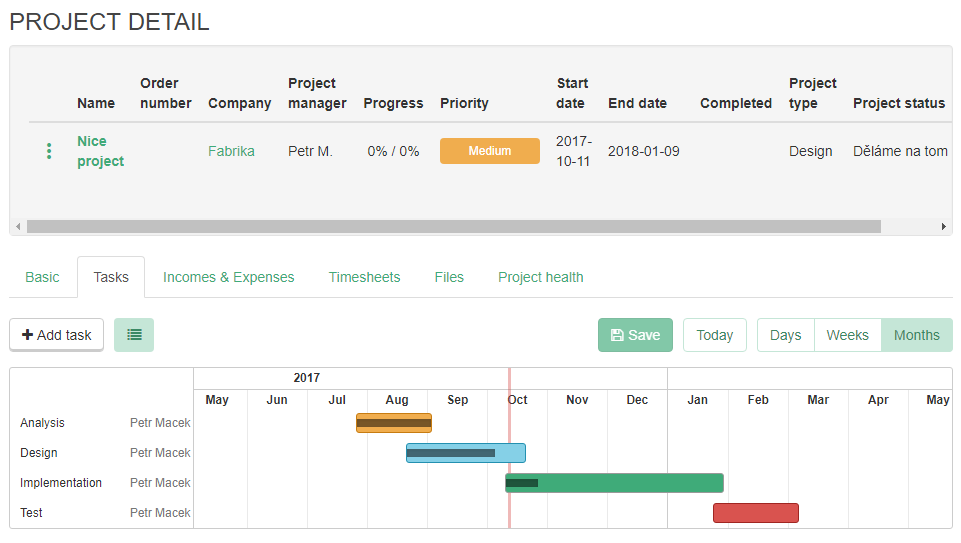 Gantt Chart Now In Caflou For Better Project Management